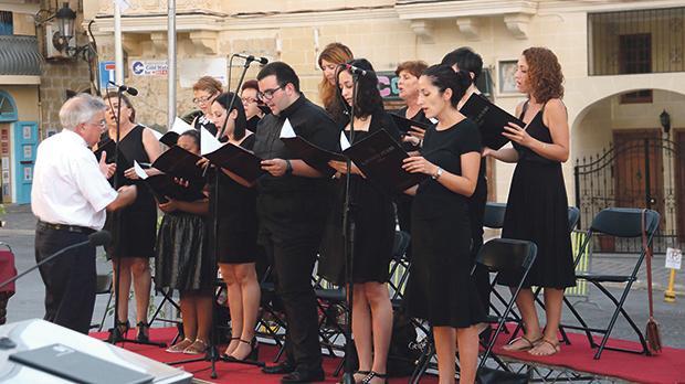 The Laudate Pueri choir.