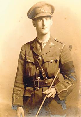 Lieutenant A.E. 'Bobbie' Johnson, 1/5th Manchester Regiment