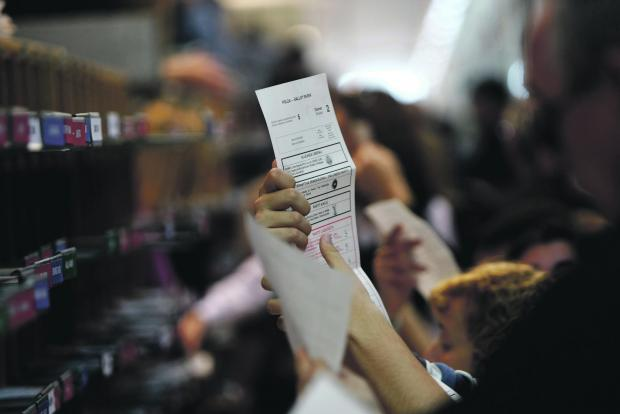 Electronic vote counting is meant to speed up the process. File photo.