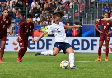 Watch: Wasteful France thump Thailand in Women's World Cup warm-up