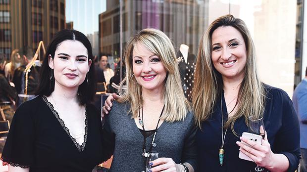 Deborah Cassar, Moira Delia and Cynthia Casha.
