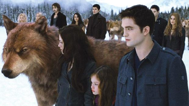 The Twilight saga comes to an eagerly-awaited end with part two of Breaking Dawn.