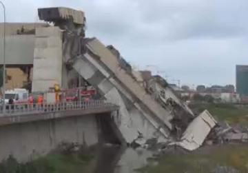 """Immense tragedy"": motorway bridge collapses over Genoa, 35 confirmed dead"