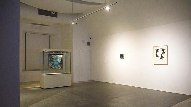 Works (from left) by Kristen Jeffcoat, Marie-Louise Kold and Bridget McCrum