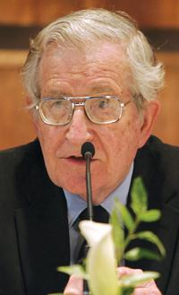 Noam Chomsky, emeritus professor at the Massachusetts Institute of Technology and renowned political activist, said the Lockerbie case is an illustration of conformism in the West.