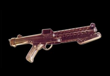 The weapon used to kill Raymond Caruana. Photos: Liberta Mhedda by Dione Borg