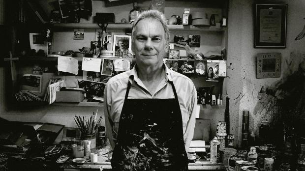 Artist John Myatt now runs a successful business selling 'genuine forgeries'. Photo: Washington Green Fine Art