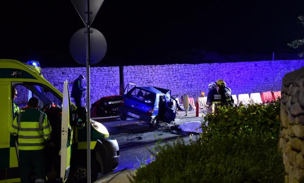 Sunday night's fatal accident took place at the site of current roadworks. Photo: Mark Zammit Cordina