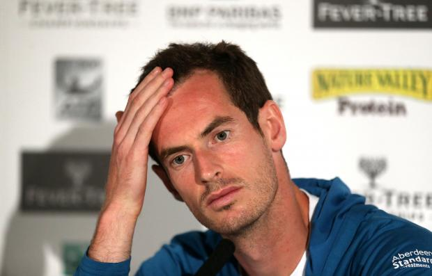 Andy Murray said that playing five-set matches is still premature for him in his recovery.