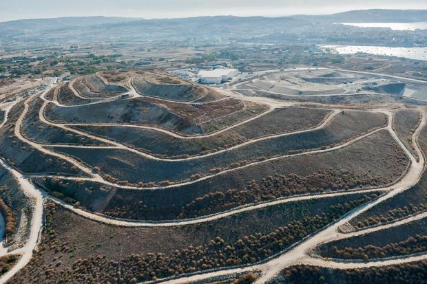 The Magħtab landfill is practically full. Photo: Shutterstock