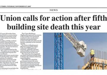 Directors fined €35,000 over builder's fatal fall