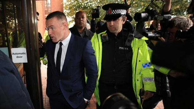 Rooney set to appear in court charged with drink driving