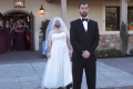 Watch: Best friend trades places with bride for 'first look' prank on groom
