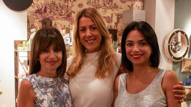 Rosemary Camilleri, Pippa Attard and Mara Camilleri.