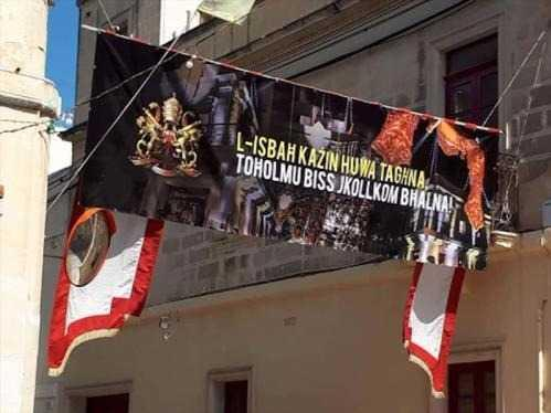 The Saint Gregory enthusiasts' banner