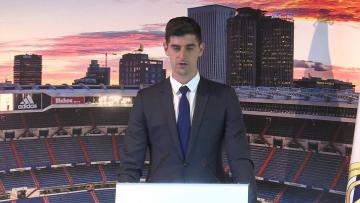 "Watch: Courtois ""turned down bigger offers"" in order to join Real 