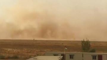 Sandstorm hits Jordanian capital