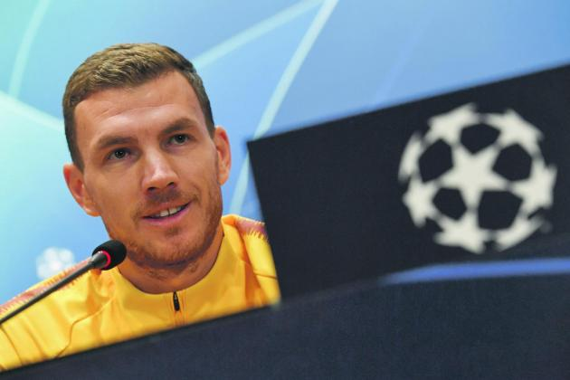 Dzeko commits to Roma with three-year contract extension
