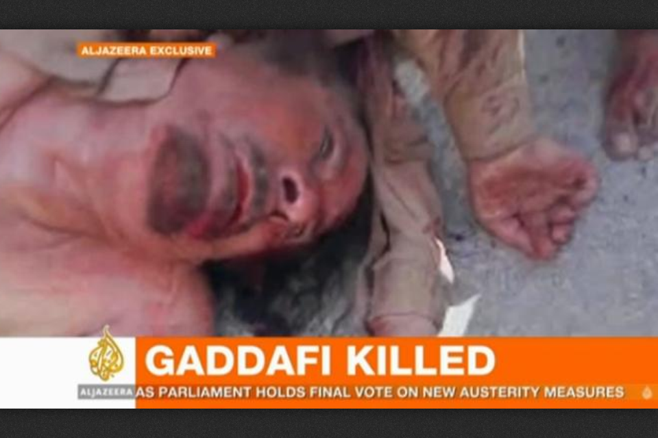 Times of Malta ‒ Libyan PM confirms Gaddafi's death