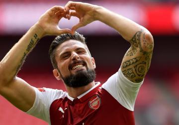 Olivier Giroud... Arsenal
