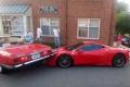 Watch: Woman parks Mercedes on top of a Ferrari
