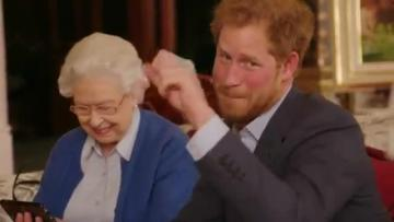Britain's Prince Harry recruits Queen, Obamas for promo video