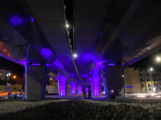 The €23 million Kappara junction project was officially opened by Prime Minister Joseph Muscat and Transport Minister Ian Borg during a ribbon-cutting ceremony on January 25. Photo: Jonathan Borg