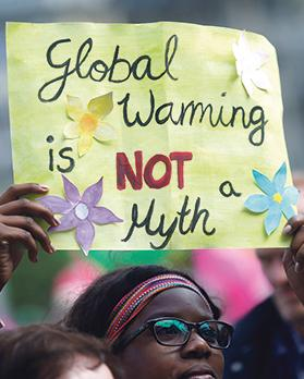 We can no longer treat climate change and its impact as a controversy among academics. Photo: Reuters