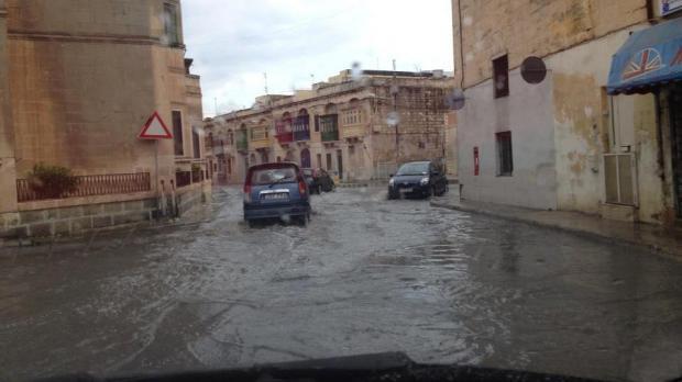 "Flooding at Balzan - Picture Petra Urso - <a href=""mailto:mynews@timesofmalta.com"">mynews@timesofmalta.com</a>"