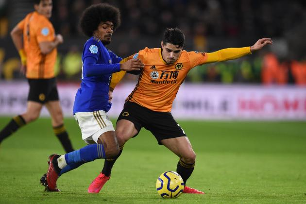 VAR denies Wolves as Leicester's Choudhury sees red