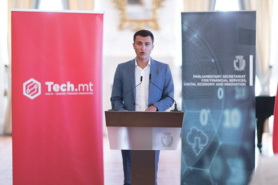 Silvio Schembri, Parliamentary Secretary for Financial Services, Digital Economy and Innovation.