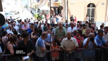 €14,000 offered in traditional Mġarr procession bids