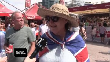 Watch: England fans delighted after Panama rout  | Video: Matthew Mirabelli