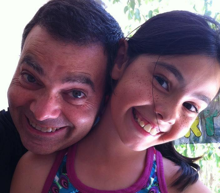 Darrin and his daughter Rebecca.