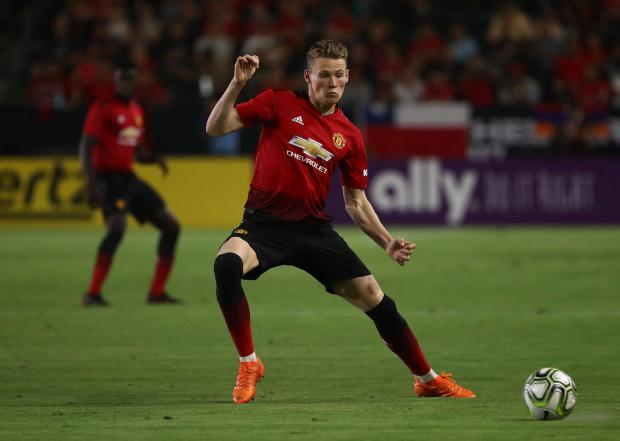 Scott McTominay is not leaving Manchester United, Ole Gunnar Solskjaer said.