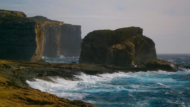 Fungus Rock in Gozo. Photo: Megan Mallia