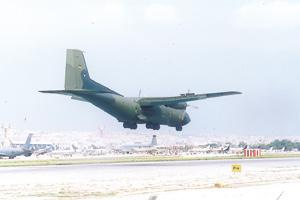 Unbearable aircraft noise