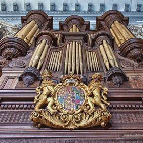 One of Malta's finest examples of the pipe organ. Photo: Reuben Chircop