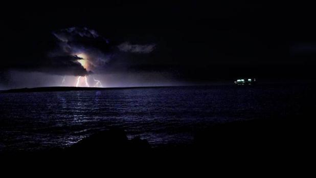 Storm over St. Paul's Island. Photo: Raymond Heap
