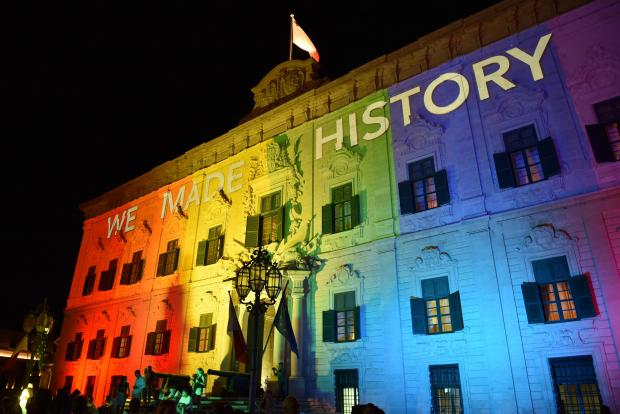 Malta passed marriage equality legislation last July. Photo: Mark Zammit Cordina