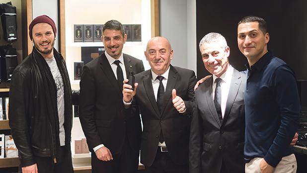 Sean Gravina, Claudio Zarb, Anthony Grima, Michael Calleja and Keith Demicoli.