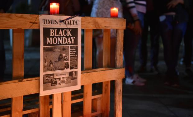 Ms Caruana Galizia's murder shocked the nation. Photo: Mark Zammit Cordina