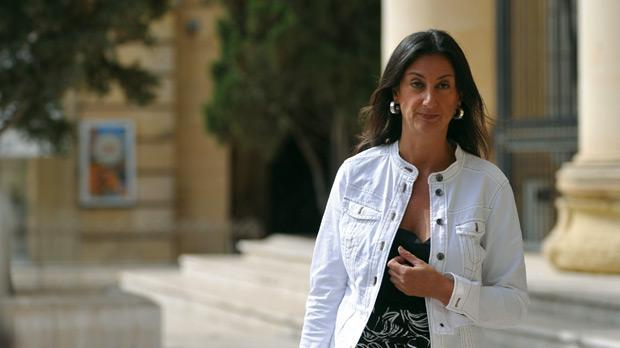 Ms Caruana Galizia is believed to have been killed in a car blast today.