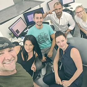 BDXAlliance team in a smiling selfie.