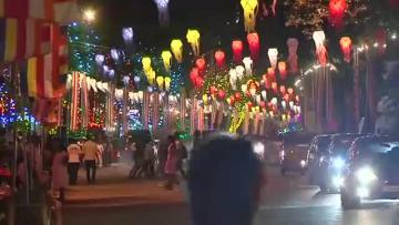 Colombo celebrates Buddhist festival of Vesak