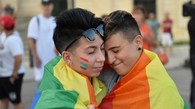 Malta's progress on LGBTQI issues has been singled out for praise by the United Nations. Photo: Mark Zammit Cordina