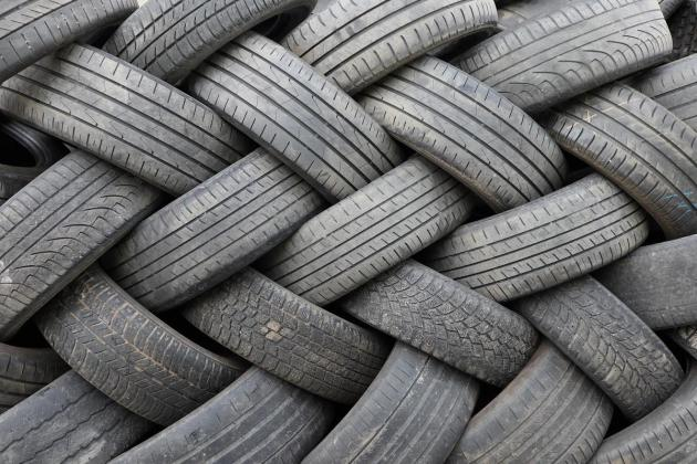 Malta's waste tyres being shipped to India