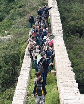 Walking along the Victoria Lines at Wied il-Faħam l/o Madliena offers an interesting trek combining history and nature.