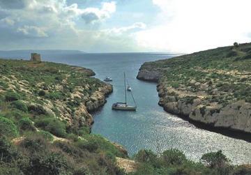 Mġarr ix-Xini, Gozo.