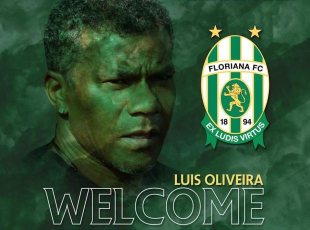 Luis Oliveira unveiled as Floriana's new coach. Photo: Floriana